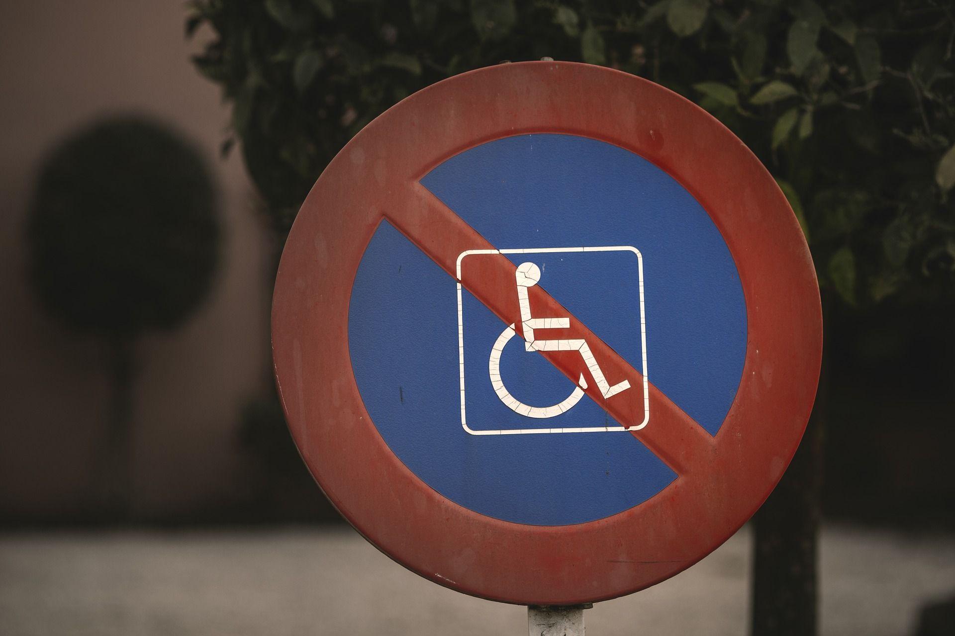 تابلو برای افراد دارای معلولیت