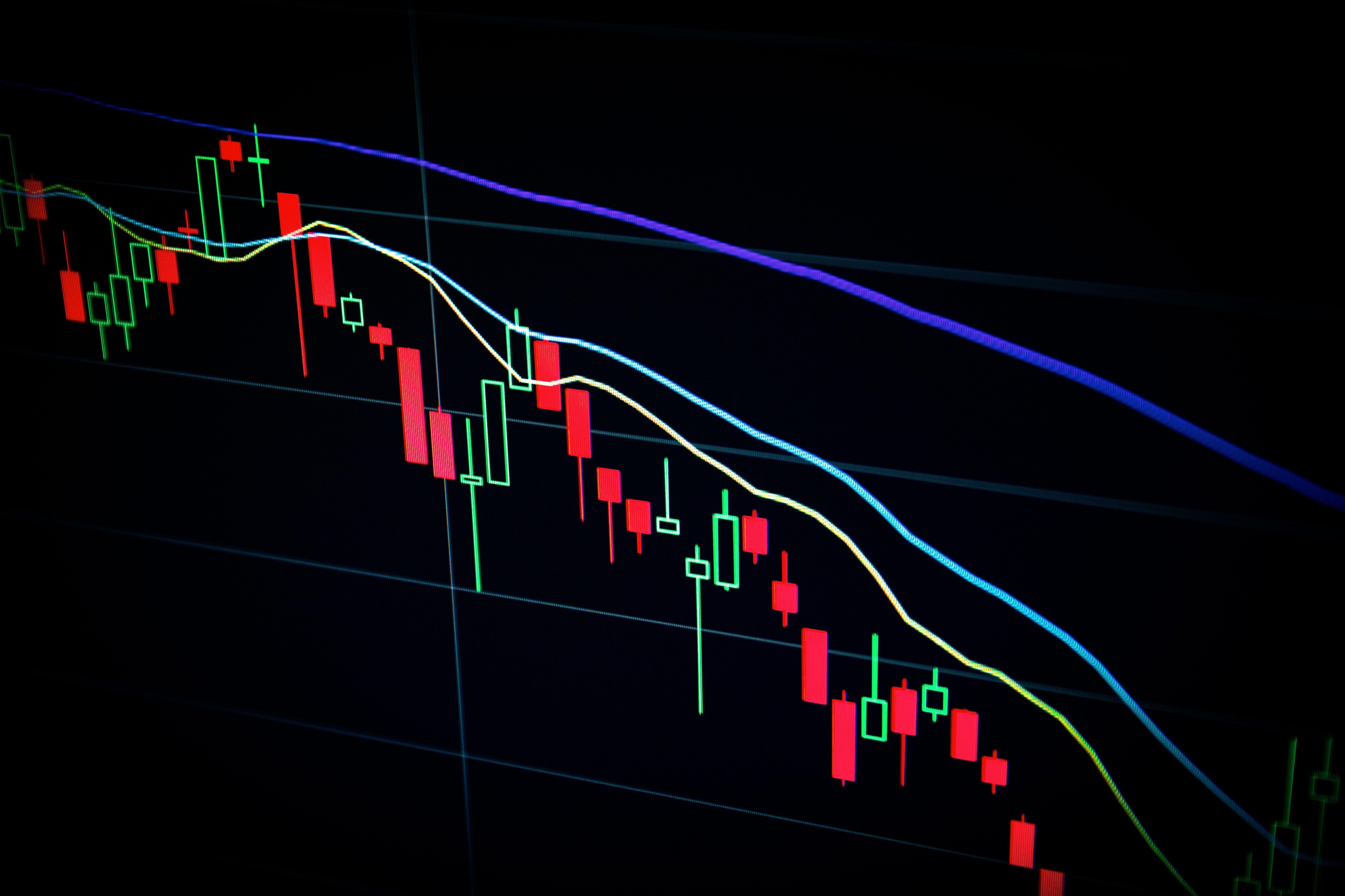 نمودار قیمت بازار بورس