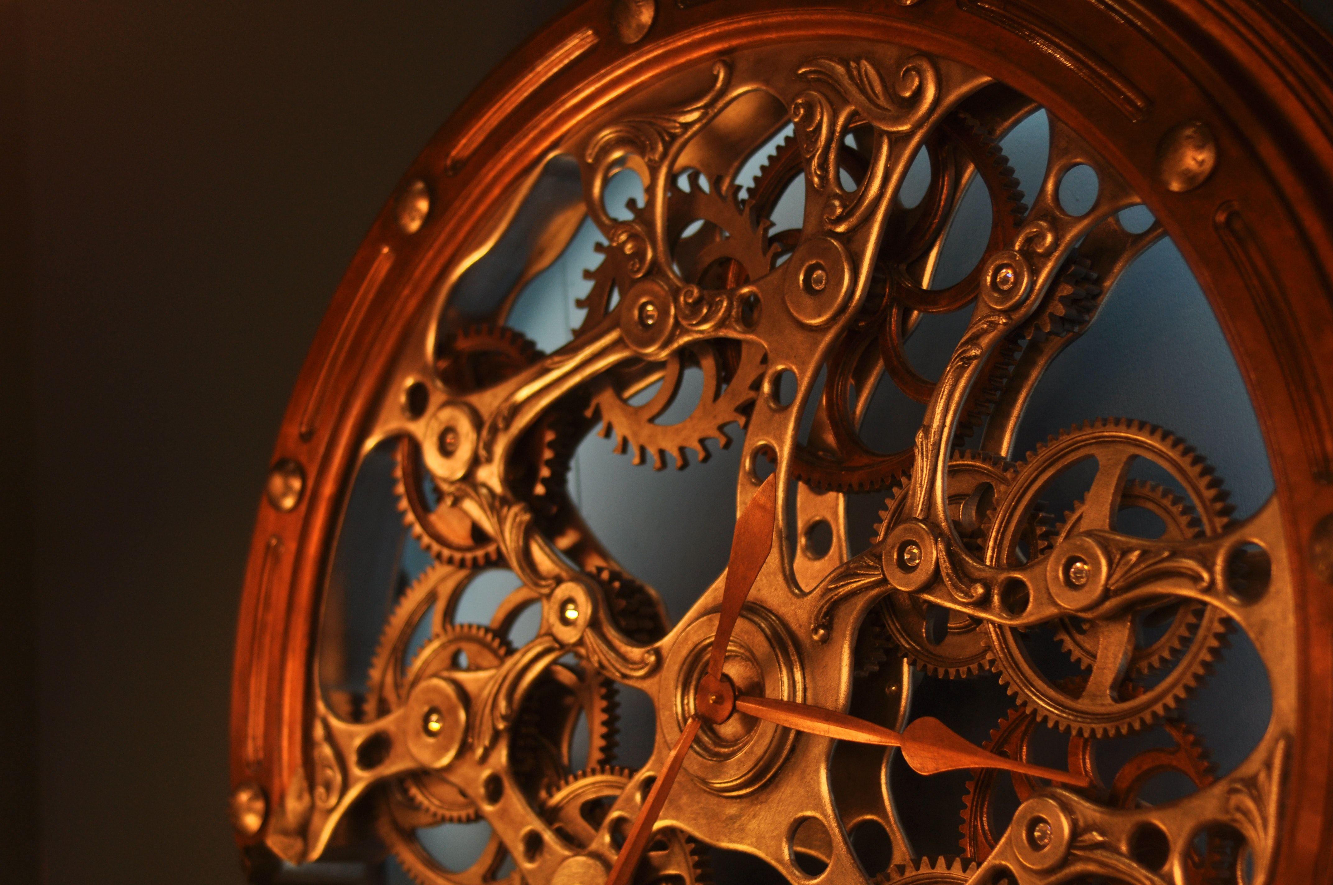 چرخ دنده های ساعت