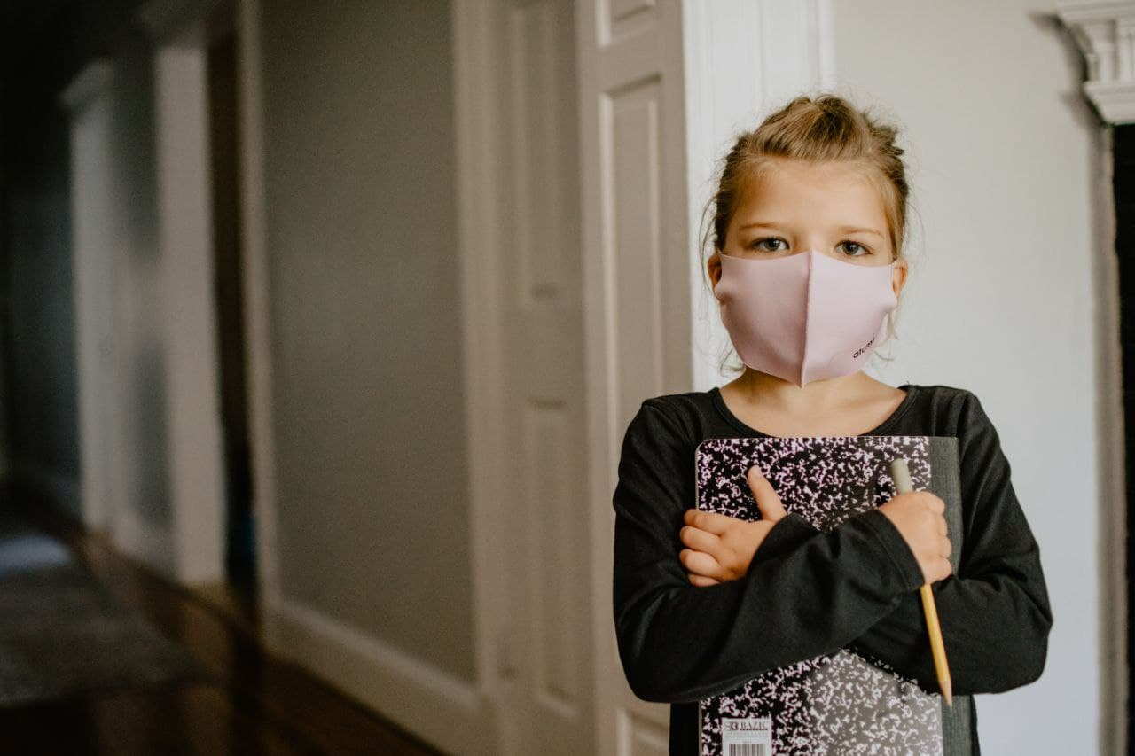 بچه ها چطور باید ماسک بزنن