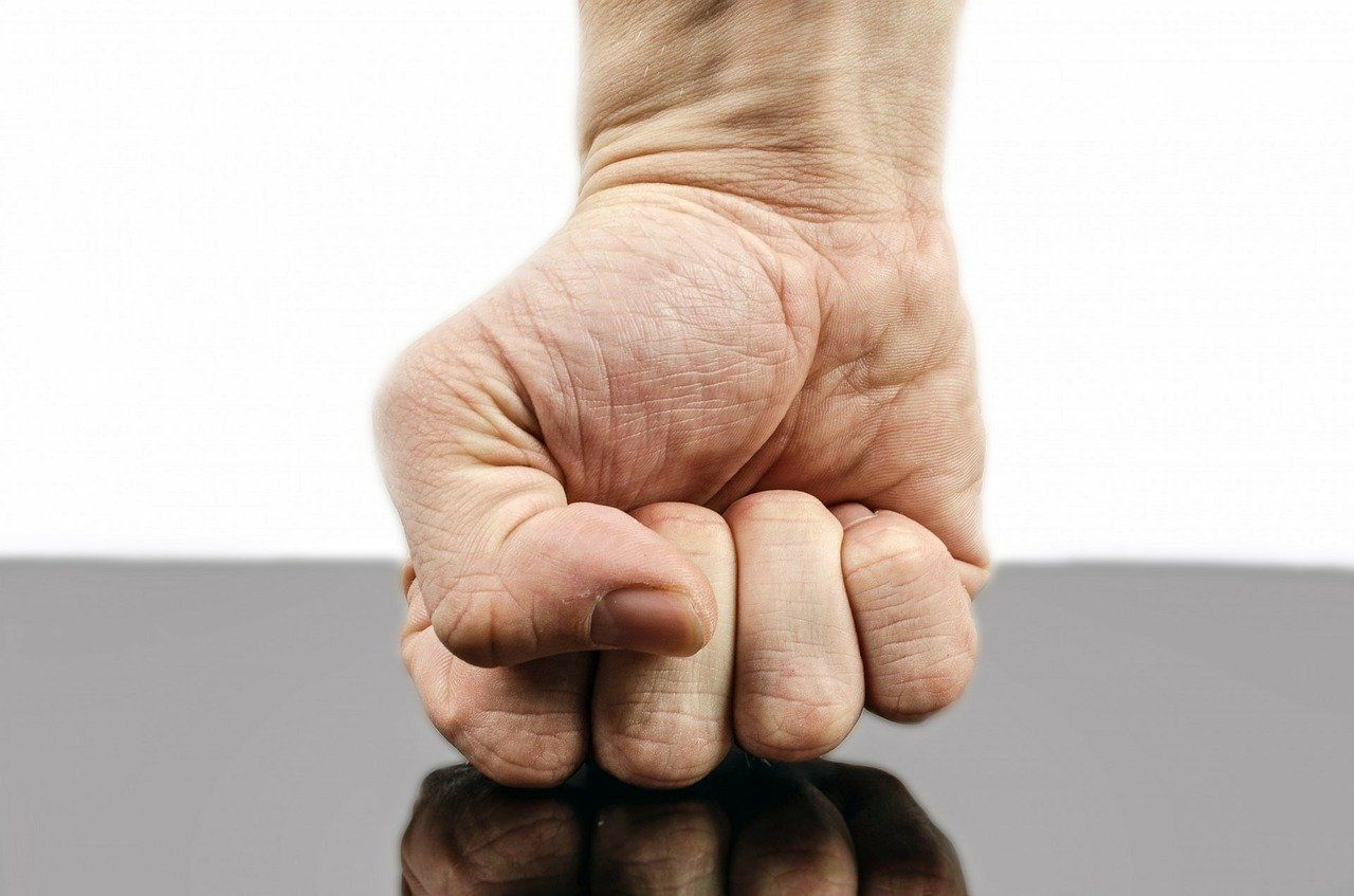 ابراز خشم